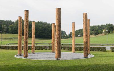 """Ausstellungseröffnung """"Singende Bäume"""" von Manfred Bockelmann"""